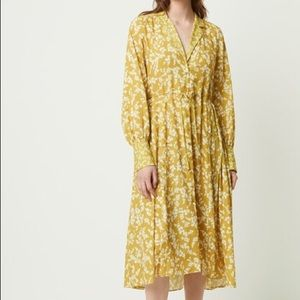 French Connection Bruna Floral Shirtdress — NWT